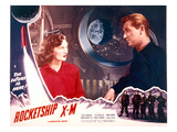 Rocketship X-M, Osa Massen & Lloyd Bridges, 1950