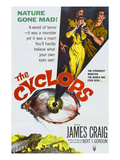 The Cyclops, From Left: James Craig, Gloria Talbott, Lon Chaney, Jr., 1957