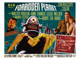 Forbidden Planet, Walter Pidgeon, Anne Francis, Robby the Robot, Leslie Nielsen, 1956