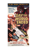 The Day the World Ended, Richard Denning, Lori Nelson, Paul Blaisdell, 1956