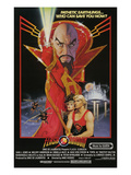 Flash Gordon, Top: Max Von Sydow, Bottom L-R: Melody Anderson, Sam J. Jones, 1980
