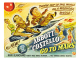 Abbott And Costello Go to Mars, Bud Abbott, Lou Costello [Abbott & Costello], Mari Blanchard, 1953