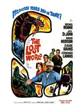 The Lost World, Jill St. John, David Hedison, Claude Rains, Fernando Lamas, Michael Rennie, 1960