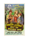 Abbott And Costello Meet the Invisible Man, Bud Abbott, Adele Jergens, Lou Costello, 1951