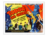 Tobor the Great, Bottom Center: Billy Chapin, 1954