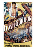 Flash Gordon, Jean Rogers, Buster Crabbe, Charles Middleton, 1936