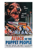 Attack of the Puppet People, 1958
