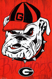 University of Georgia Bulldogs NCAA Poster