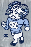 University of North Carolina Tarheels NCAA Poster
