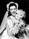 Ann Miller, Modeling a Wedding Ensemble, 1941