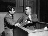 Judgment At Nuremberg, Maximillian Schell, Montgomery Clift, 1961