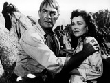 The Tall T, Randolph Scott, Maureen O'Sullivan, 1957