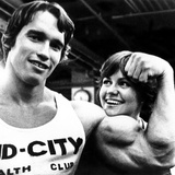 Stay Hungry, Arnold Schwarzenegger, Sally Field, 1976