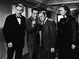 And Then There Were None, Walter Huston, Louis Hayward, Barry Fitzgerald, June Duprez, 1945