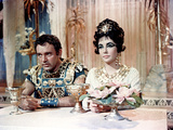 Cleopatra, Richard Burton And Elizabeth Taylor, 1963