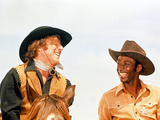 Blazing Saddles, Gene Wilder, Cleavon Little, 1974 Young Frankenstein, Gene Wilder, Peter Boyle, 1974 Blazing Saddles The Producers, 1968 Willy Wonka and the Chocolate Factory Dreamers Of Dreams (Purple Silhouette)