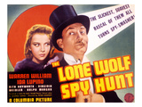 The Lone Wolf Spy Hunt, Ida Lupino, Warren William, 1939