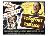 Passport To Pimlico, Barbara Murray, Paul Dupuis, Stanley Holloway, 1949