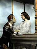 Romeo And Juliet, Leslie Howard, Norma Shearer, 1936, Balcony Scene
