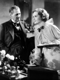 Dinner At Eight, Lionel Barrymore, Billie Burke, 1933