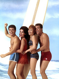 Beach Blanket Bingo, Frankie Avalon, Annette Funicello, Deborah Walley, John Ashley, 1965