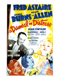 A Damsel In Distress, Fred Astaire, George Burns, Gracie Allen, Joan Fontaine, 1937