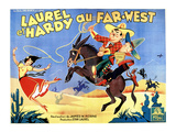 Way Out West, (AKA Laurel Et Hardy Au Far-West), 1937