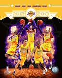 2012-13 Los Angeles Lakers Team Composite