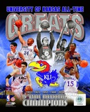 University of Kansas Jayhawks All Time Greats Composite