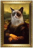 Grumpy Cat Mona Lisa grumpy cat