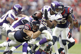 Minnesota Vikings and Houston Texans NFL: Adrian Peterson and Connor Barwin