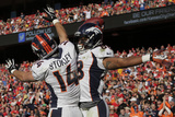 Denver Broncos and Kansas City Chiefs NFL: Demaryius Thomas and Brandon Stokley