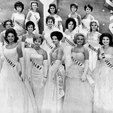 Miss USA 1961 Finalists in the First Phase of the Miss Universe Pageant in Miami Florida
