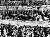 Reza Shah Pahlavi's Coronation Procession on May 22, 1926