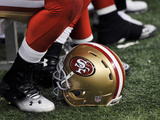 San Francisco 49ers New Orleans Saints NFL: San Francisco 49ers Helmet