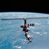 International Space Station in 2002