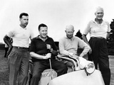 President Dwight Eisenhower with His Golfing Partner, Henry Ford II