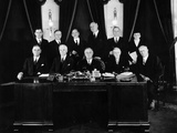 Dec 21, 1933, Franklin Roosevelt with His Cabinet