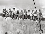 Lunch Atop Skyscraper, Rockefeller Center, 1932