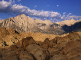 Snow-Covered Alabama Hills, California, USA