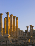 Temple of Artemis, Ancient Jerash Ruins, Amman, Jordan