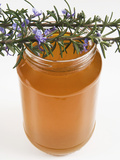Rosemary (Rosmarinus Officinalis) Honey in Jar