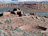 Native American Ruins at Wupatki National Monument, Arizona, USA