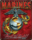 USMC - Eagle, Globe & Anchor Steel Sign