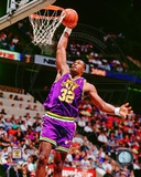 Karl Malone 1990 Action