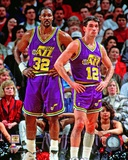 Karl Malone & John Stockton 1994 Action