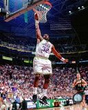 Karl Malone 1996 Action