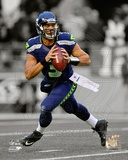 Russell Wilson 2012 Spotlight Action