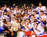 The New York Rangers 1994 Stanley Cup Champions Team Celebration