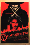 Buy V for Vendetta - Red Movie Poster at AllPosters.com